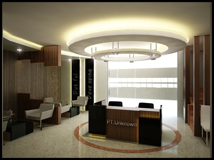 Lobby Area Office At Equity Tower Jakarta