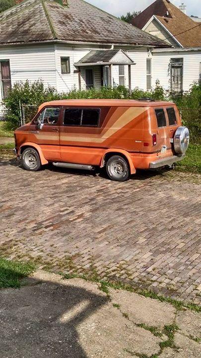 Custom 70's van