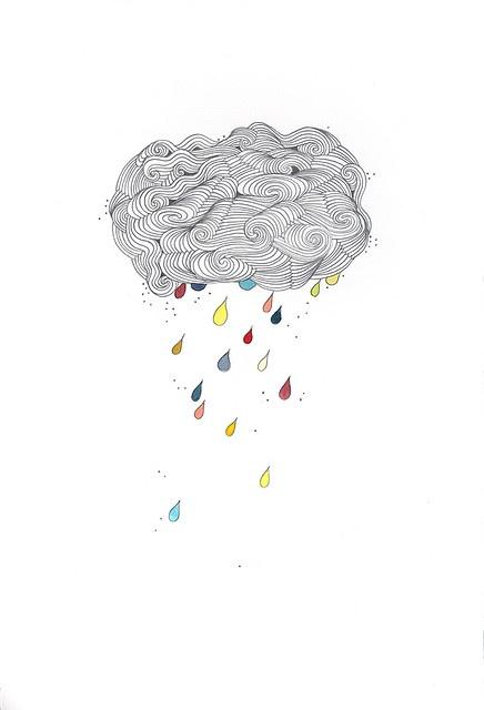 #illustration cloudbust by bent folk