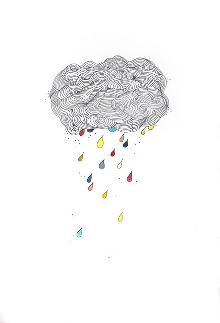 #illustration cloudbust by bent folk