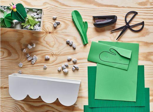 m la dekopapier scheren steinchen und ggplanta bertopf. Black Bedroom Furniture Sets. Home Design Ideas