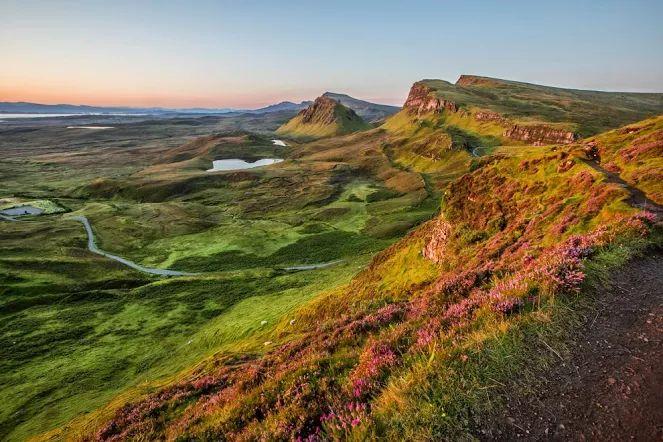Рассвет на острове Скай, Шотландия