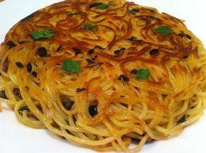 Frittata di scammaro - pasta fritta
