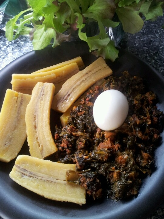 102 best ghanaian food images on pinterest african recipes boiled plantain and spinach stew forumfinder Gallery