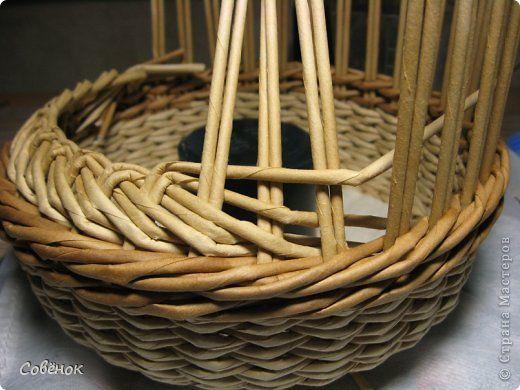 Tutorial - Поделка изделие Плетение Близняшки-карандашки Бумага газетная Трубочки бумажные фото 13