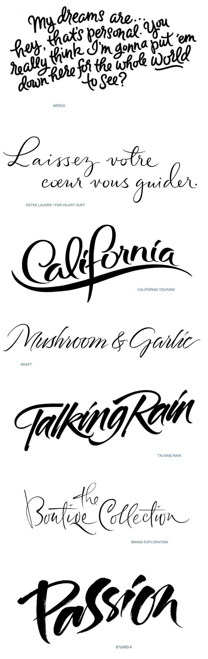Fun new script fonts for 2015. I'm in love with the Boutiqe Collection.