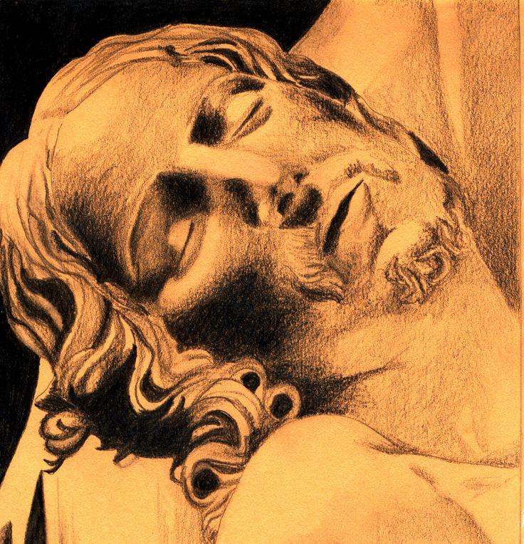 Il Cristo Morto - Matita (2006)