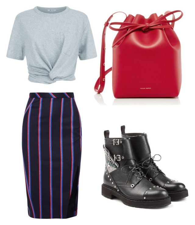 """Без названия #85"" by anita-wonderlight on Polyvore featuring Altuzarra, Fendi, T By Alexander Wang и Mansur Gavriel"