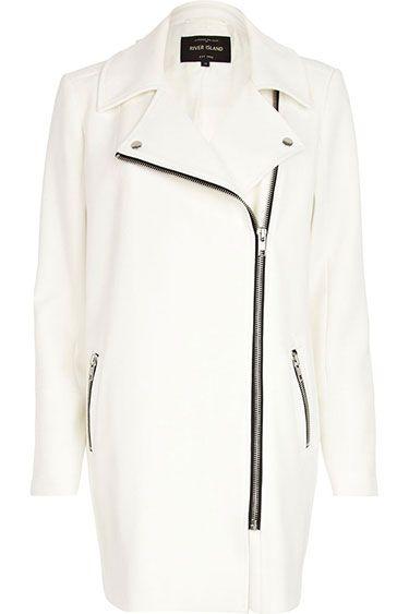 Fresh Coats: 10 Winter Coat Trends Under $300 - River Island biker coat