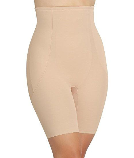 0fb3ce486dd09 Miraclesuit Back Magic Extra Firm Control High-Waist Thigh Slimmer at Amazon  Women s Clothing store