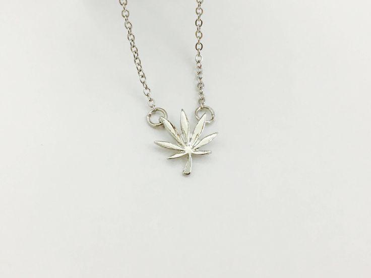 Just in: Dainty Silver Cannabis Leaf Necklace Boho Ganja Marijuana Chic Cannachic Hippie Stoner Jewelry Lifted Karma Project https://www.etsy.com/listing/540488125/dainty-silver-cannabis-leaf-necklace?utm_campaign=crowdfire&utm_content=crowdfire&utm_medium=social&utm_source=pinterest