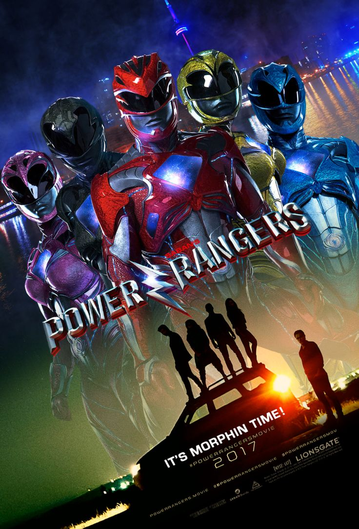 2017 Power Rangers Movie Poster (Fake). by AkiraTheFighter24 on @DeviantArt