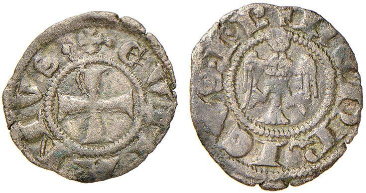 NumisBids: Nomisma Spa Auction 51, Lot 1305 : COMO Enrico VII (1310-1313) Denaro – Biaggi 644 MI (g 0,58) RR...