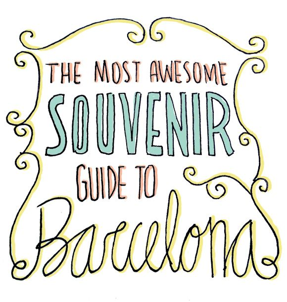 Wondering what to buy when you go to Barcelona? Check out the most awesome souvenir guide!!