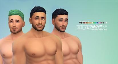 Mod The Sims : Pumped Flip Hair by Xalder.