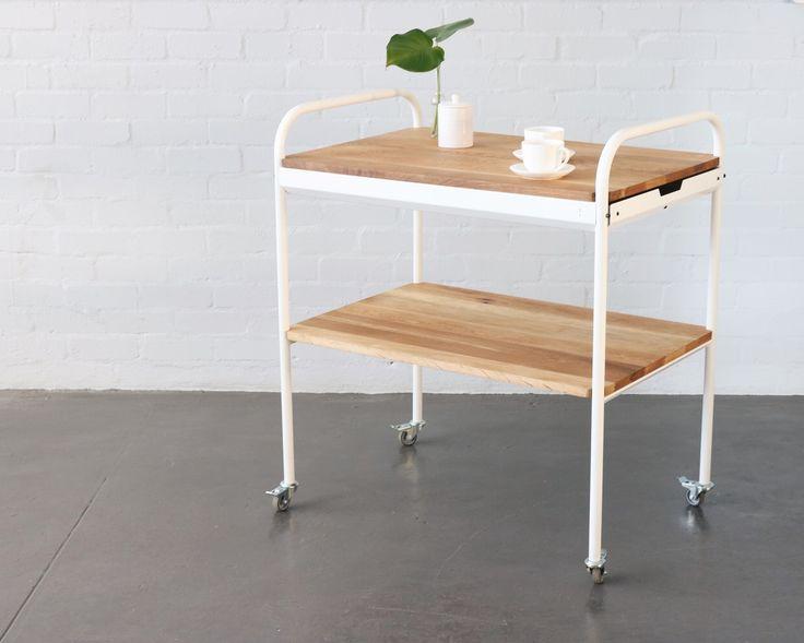 1887 Coffee Trolley || Pedersen+Lennard || furniture design