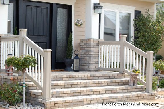 Best Porch Steps Designs And More Front Porch Steps Porch 640 x 480