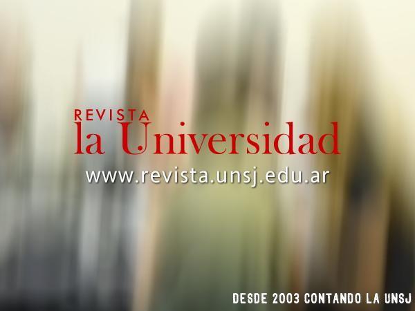 """Revista """"La Universidad"""" actualizó sus contenidos digitales #UNSJ http://www.unsj.edu.ar/noticiaDetalle.php?n=1784"""