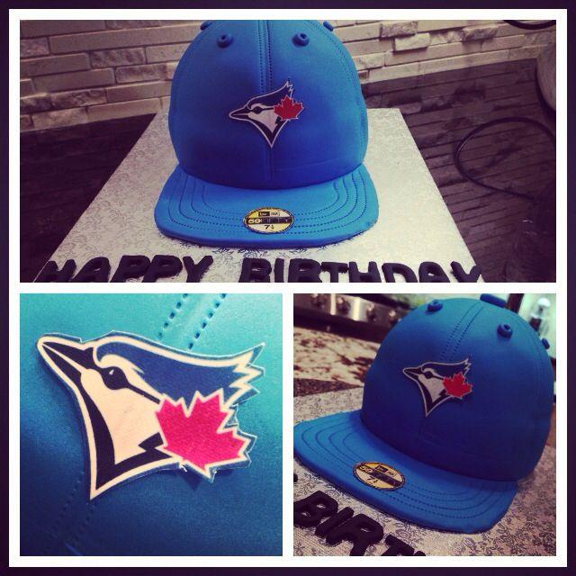 Blue Jays Hat Cake !