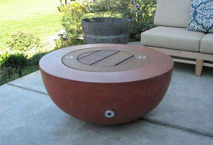 clay fire pit ideas