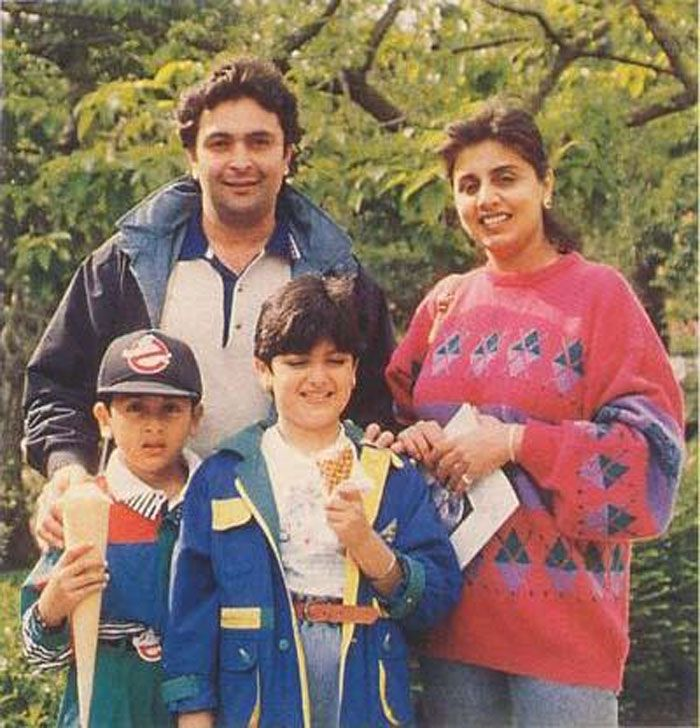 Ranbir Kapoor's Childhood Pics With His Family