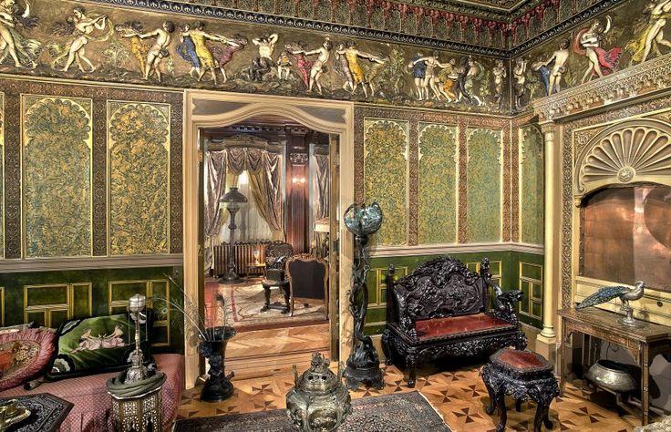 Photographie d'un salon turc