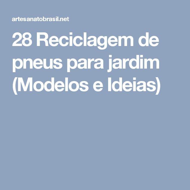 ideias jardim reciclado : ideias jardim reciclado:1000 ideias sobre Jardim Reciclado no Pinterest