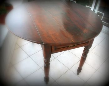 Dining table - after the recovery restoration