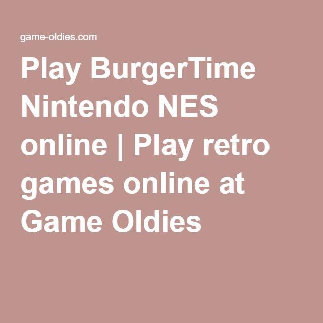 Play BurgerTime Nintendo NES online | Play retro games online at Game Oldies