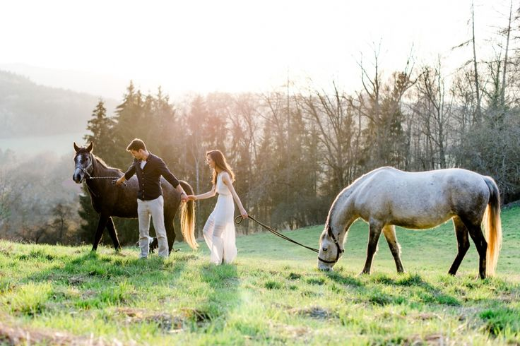 Couple session / Horse session