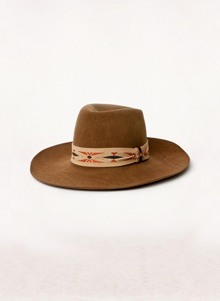 "vintage ""sundance"" western hat"