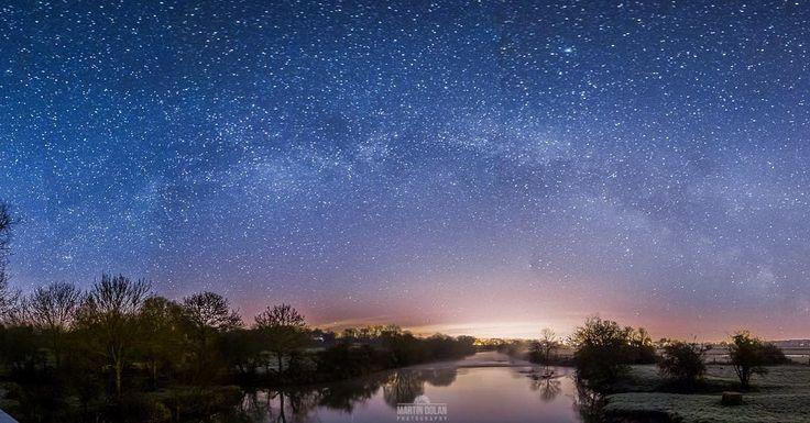 Gorgeous! shared by dols34 #astrophotography #contratahotel (o) http://ift.tt/1POSp0E Way Over The River Stour Wimborne - UK  #milkyway #stars #nightsky #nightscape #longexposurekings #longexposure #light #dawn #dorsetmag #bournemouthecho #dorset #exploredorset #lovefordorset #wimborne #skyporn #awesome