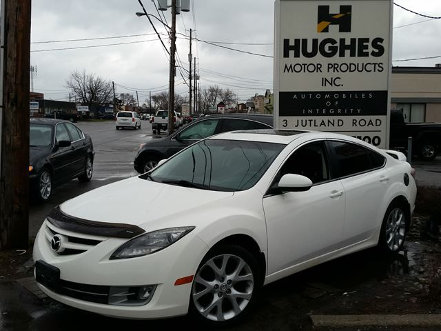2009 Mazda 6 GT, Sedan, Automatic, Sunroof, Leather Seats, Aluminum Wheels All trade-ins welcome. Hughes Motor Products 416-252-1100