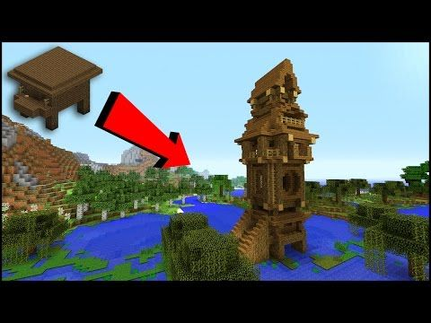 http://minecraftstream.com/minecraft-tutorials/transforming-a-witch-hut-into-a-witch-tower-minecraft-tutorial/ - Transforming a WITCH HUT into a WITCH TOWER!! Minecraft Tutorial  Transforming a WITCH HUT into a WITCHTOWER!! Minecraft Tutorial witch house – Swamp house tutorial.Minecraft: How To Build A Small Survival swamp House Tutorial.This episode of Minecraft Build Tutorial is focused on a quick, simple and easy small Shack house that doesn't need many...