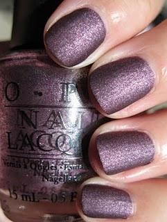 Pretty!: Matte Nails, Dark Su, Nails Colors, Lincoln Parks, Opi Lincoln, Purple Nails, Nails Ideas, Nails Polish, Winter Nails