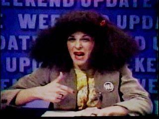 I so miss Gilda Radner.  Comic genius!  Especially Rosanne Rosanadanna....
