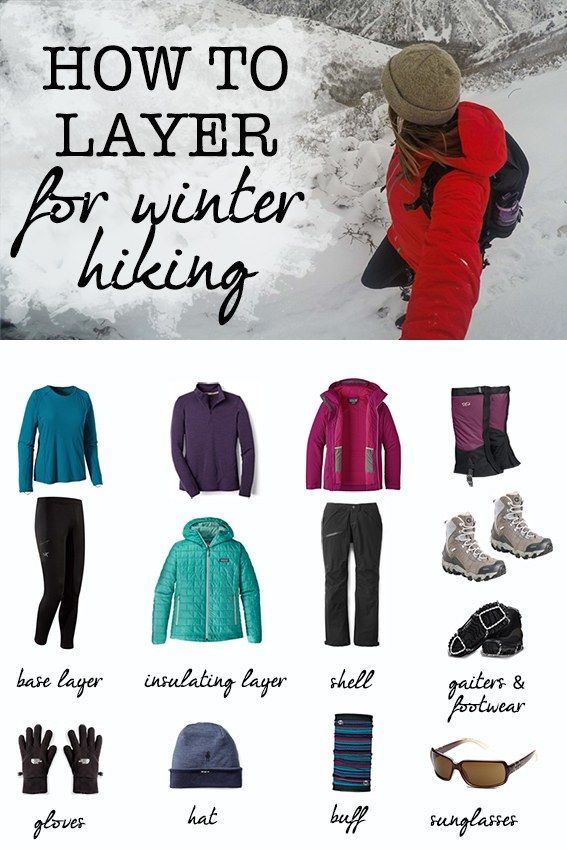 4ef054ecbd Interested in winter hiking  Learn what clothes to wear for cold weather  hiking and how to layer appropriately for snow and chilly temps.