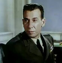 José Ferrer as the defense attorney in The Caine Mutiny