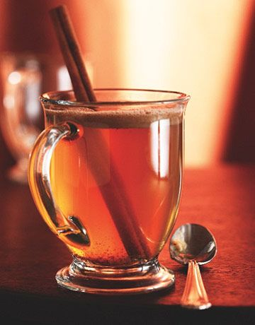Hot buttered rum- this definitely makes having a sore throat tolerable.