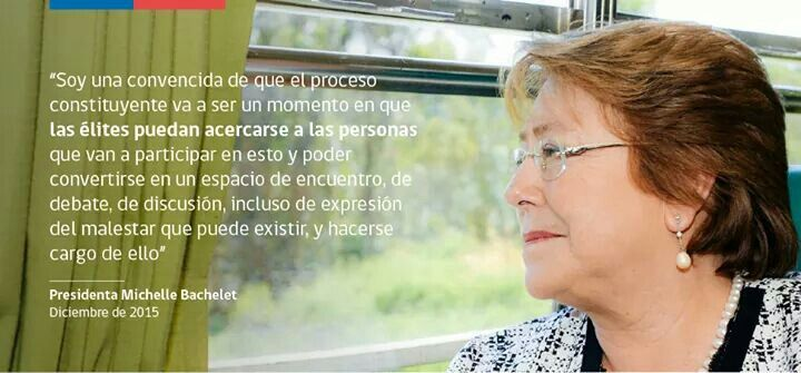 Nueva Constitución #Chile #MichelleBachelet