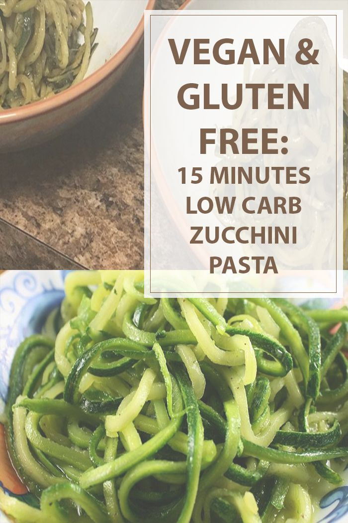 Low carb zucchini pasta cooking recipe is a easy and quick recipe to cook a tastefully vegan, gluten free and low carb pasta meal. #vegan #gluten #cooking #recipes | www.housewiveshobbies.com |