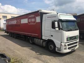 nákladní Volvo FH 12.460 + NÁVĚS KOGEL tahač nafta Praha 9 - Horní Počernice,bílá