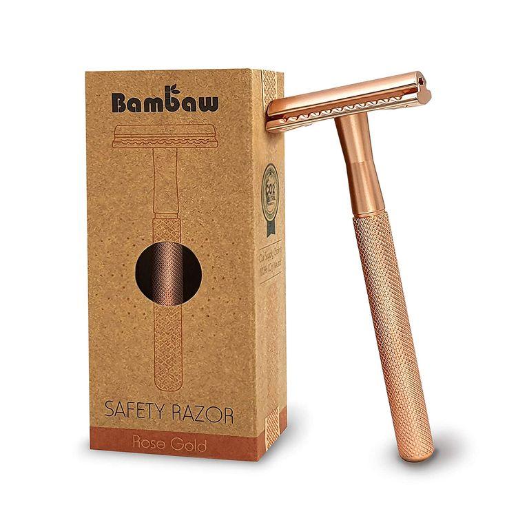 Rose Gold Safety Razor Women Safety razor, Best safety