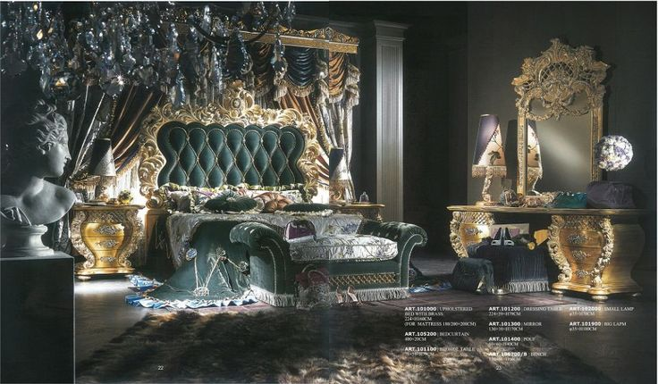 VERSACE FURNITURE - Bedroom 100 000 SeriesFurniture from