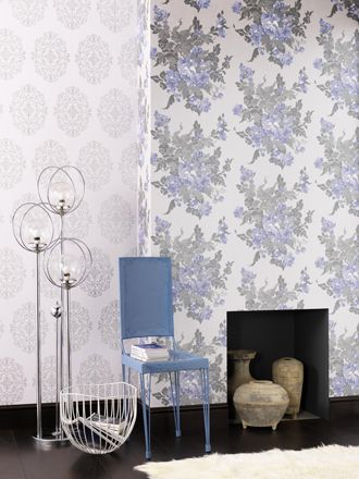 Ginevra wallpaper from Osborne and Little.