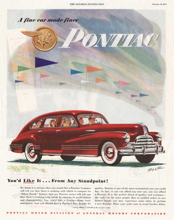 1947 Pontiac Ad 1