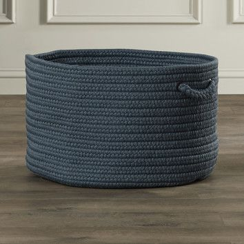 FREE SHIPPING! Shop AllModern for Alcott Hill Shreveport Braided Storage Basket - Great Deals on all  products with the best selection to choose from!