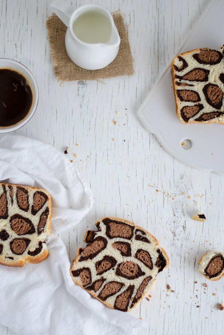 Leopardbrød med Nutella