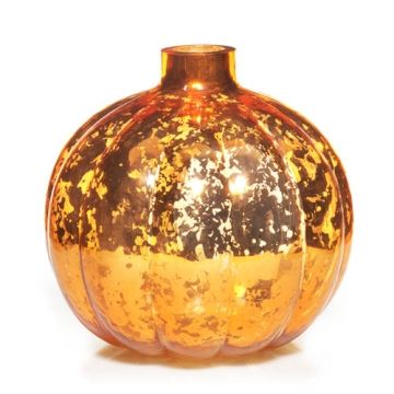 This Pumpkin Collection Tea Light Candle Holder offers numerous decorative possibilities from accenting a small room with a touch of season style to creating a stunning centerpiece with multiple arrangements!
