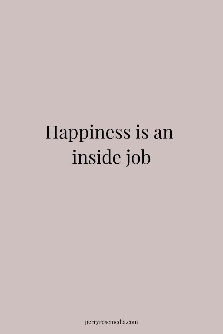 Glück ist ein Insider-Job #Glück #Zitate